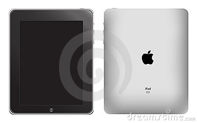 Apple ipad vector Editorial Photo