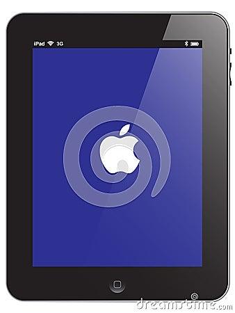 Apple iPad vector Editorial Photography
