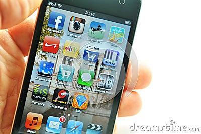 Apple iPod Editorial Stock Photo