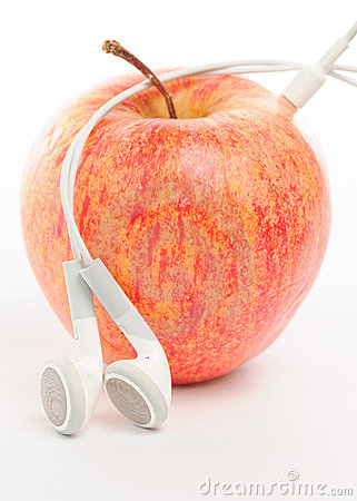 Apple ipod music abstract