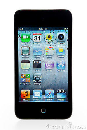 Apple Ipod Touch 4th Generation Editorial Stock Image