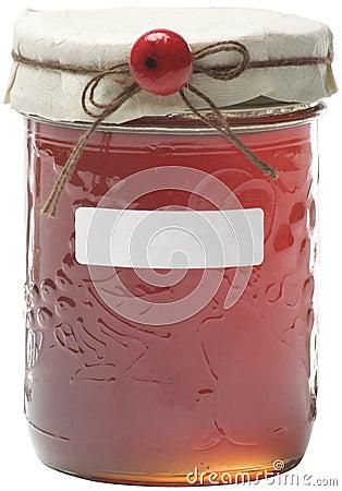 Free Apple Jelly Jar Stock Photography - 486872