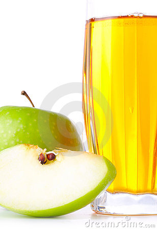 Apple and juice