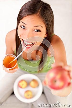 Free Apple Juice Royalty Free Stock Photo - 20985475