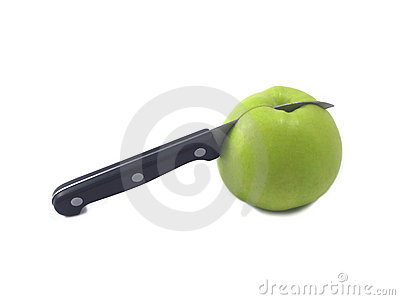 Apple and knife (2)