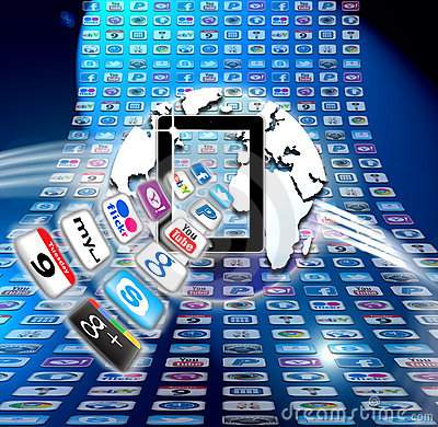 Apple Mac iCloud data apps Editorial Image