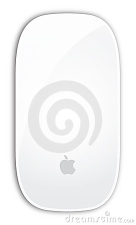 Apple Magic mouse Editorial Stock Photo