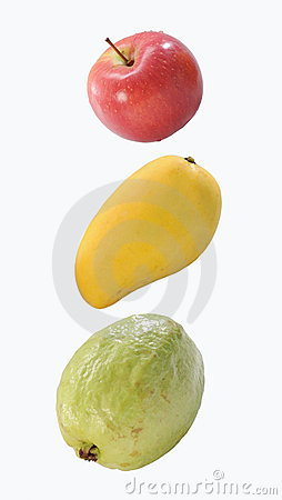 Apple, mango & guava