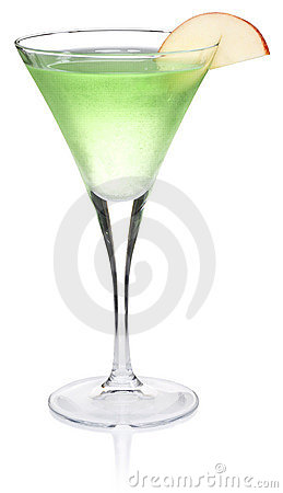 Apple Martini Image libre de droits - Image: 3446356