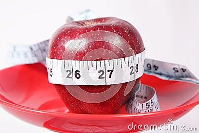Apple & Measuring Tape