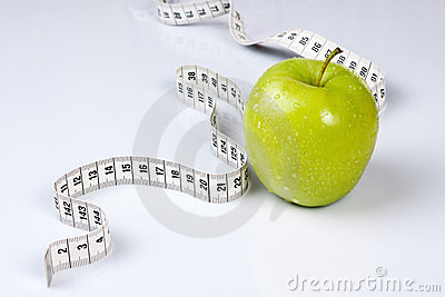 Apple with meter