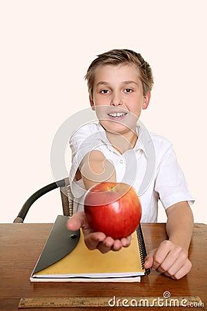 An apple for my teacher