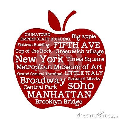 Free Apple NYC Royalty Free Stock Photo - 25386815