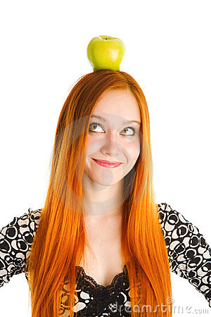 Free Apple On The Head Stock Photography - 5518642