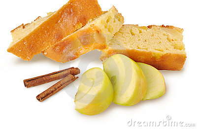 Apple-pie with cinnamon