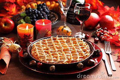 Apple pie for Thanksgiving