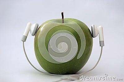 Apple player Editorial Photo
