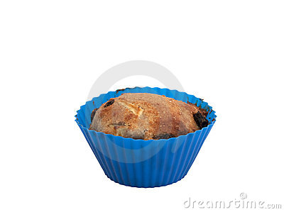 Apple raisin muffin