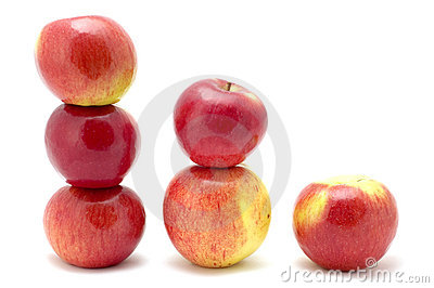 Apple in size order