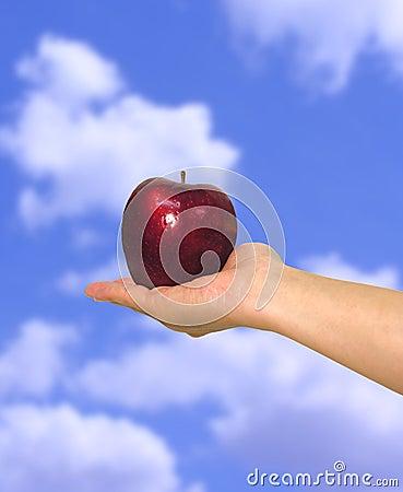 Apple in Sky