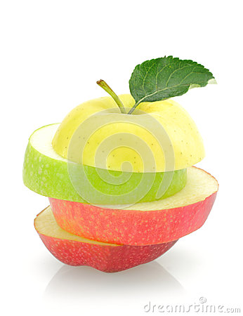 Apple slices