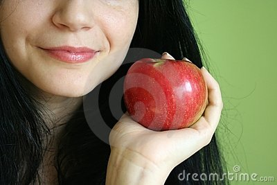 Apple and smile
