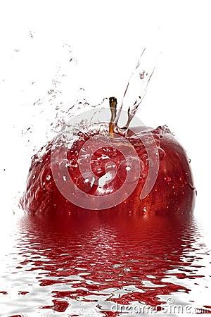 Free Apple Splash Royalty Free Stock Image - 4178906
