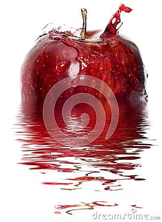 Free Apple Splash Stock Image - 7413311