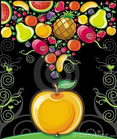 Free Apple Splash ( Fruit Series) Royalty Free Stock Photos - 15354608