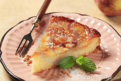 Apple Sponge Cake Royalty Free Stock Photos - Image: 24221128