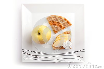 Apple Tart Slices