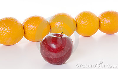 Apple to Oranges