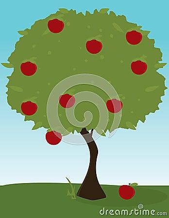 Apple tree image
