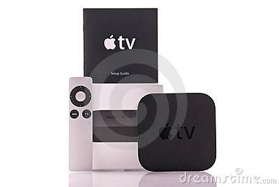 Apple TV Editorial Image