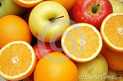 Apple und Orangen