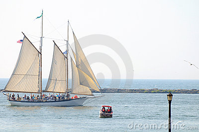 Appledore IV tall ship Editorial Photo