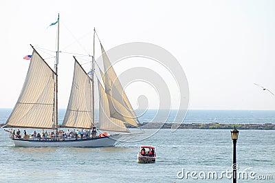 Appledore IV tall ship Editorial Photo