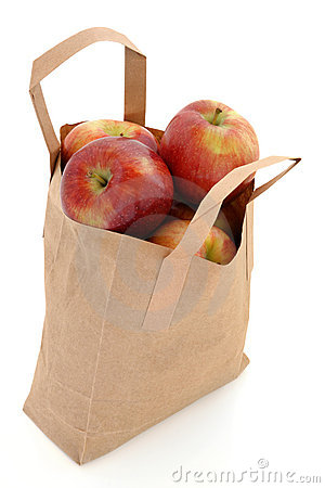 Apples In A Bag Stock Images Image 23316364