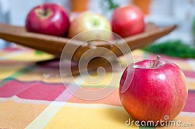 Apples, basket