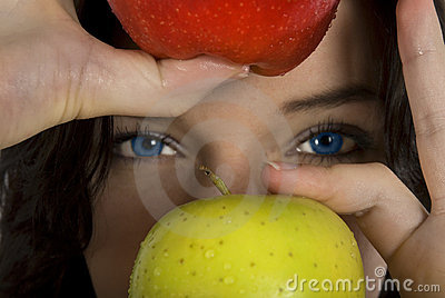 Apples and eyes