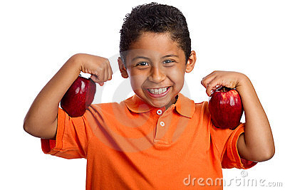 Apples Help You Grow Stronger