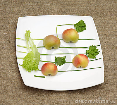 Apples lettuce and onion music