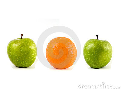 Apples and orange