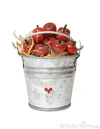 Apples In A Pail