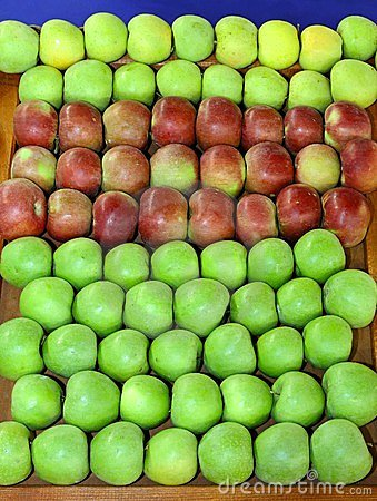 Apples stall