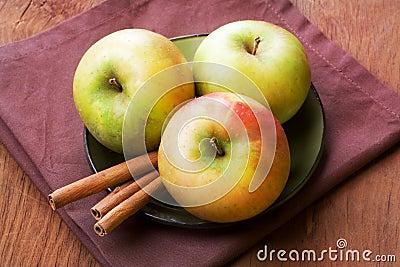 Apples, still life.