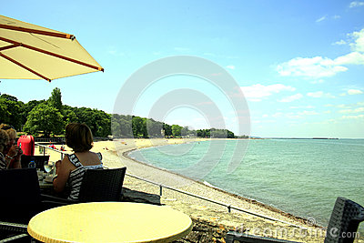 Appley beach, Ryde, Isle of Wight. Editorial Stock Photo