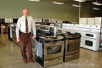 Appliance salesman