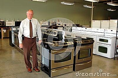 Appliance salesman