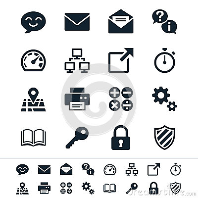 Free Application Icons Royalty Free Stock Photos - 31894048